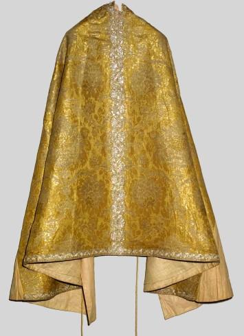Manifattura italiana sec. XVIII, Piviale oro