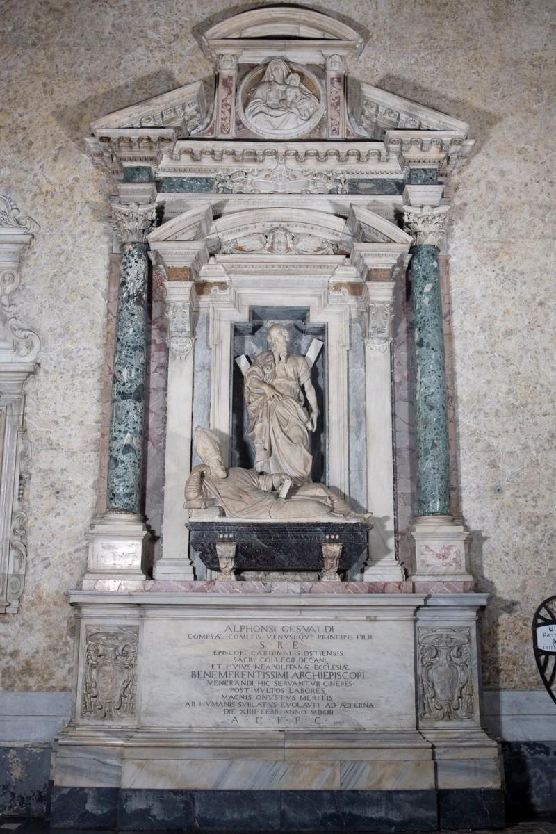 Naccherino M. - Montani T. (1603), Monumento sepolcrale del cardinale Gesualdo