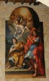 Ambito viterbese sec. XVIII, Dipinto con San Giovanni e Marciano