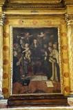 Giorgio da Orte sec. XVI, Dipinto con la Madonna del rosario
