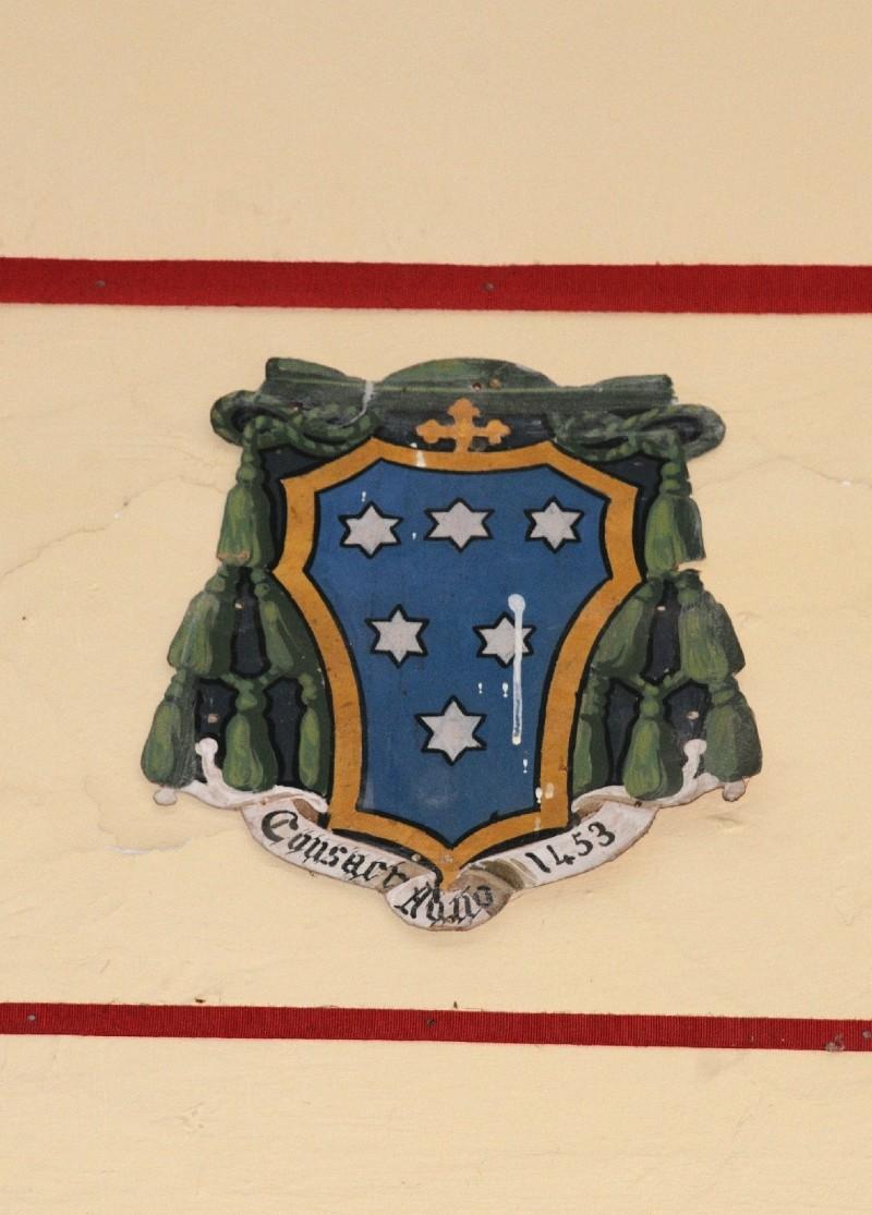 Ambito laziale sec. XX, Dipinto con stemma del vescovo Altieri