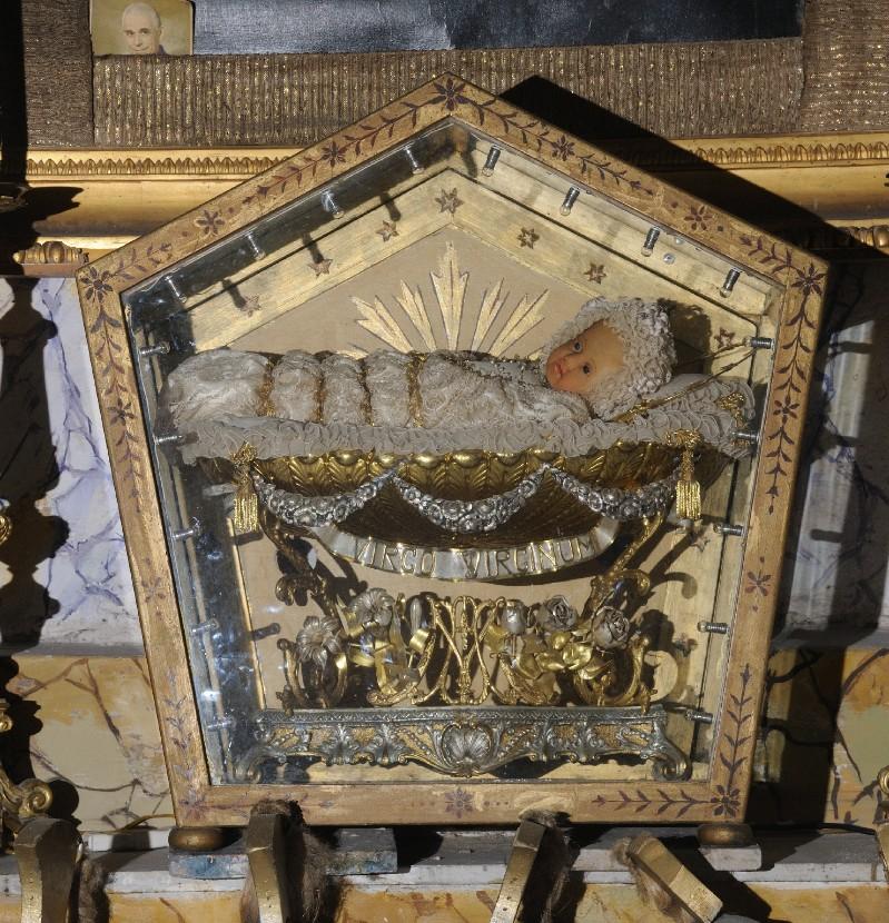 Artigianato laziale sec. XIX, Urna di Maria Bambina