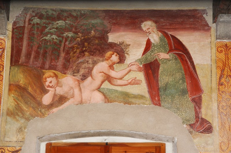 Negro G.-Negro A. (1523-1531), Dio crea la donna dalla costola dell'uomo