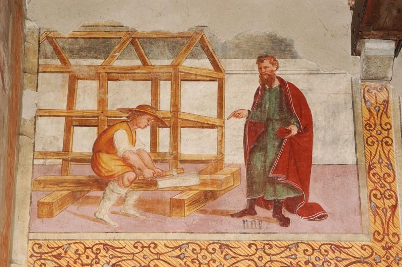 Negro G.-Negro A. (1523-1531), Noè fa costruire l'arca
