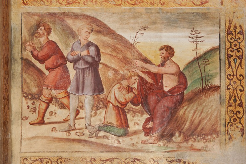 Negro G.-Negro A. (1523-1531), Noè benedice il figlio che non l'ha deriso