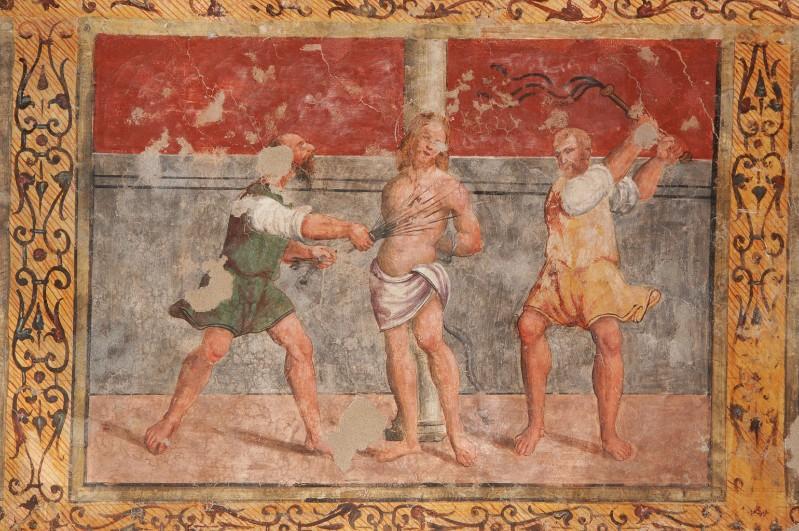 Negro G.-Negro A. (1523-1531), Gesù Cristo flagellato alla colonna