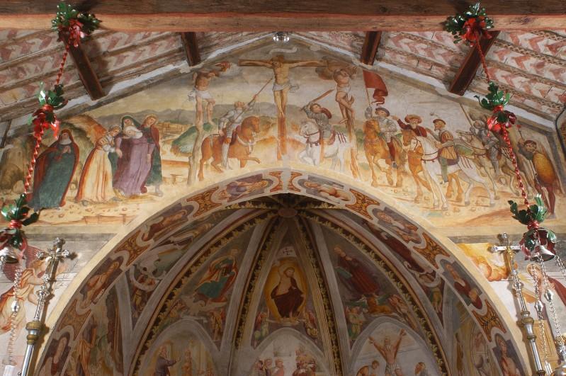 Negro G.-Negro A. (1523-1531), Gesù crocifisso tra la Madonna e S. Giovanni