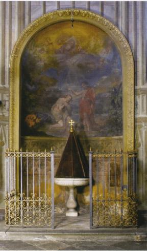 La cappella battesimale