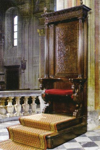 La cattedra vescovile