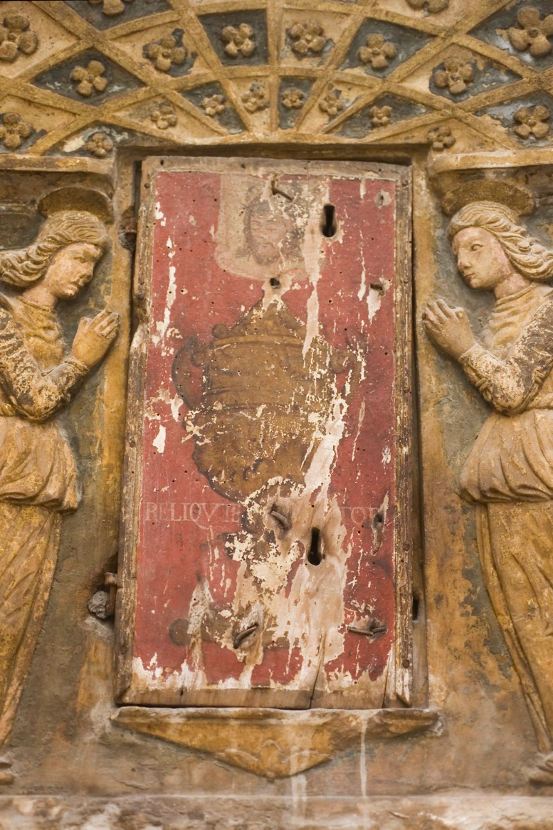Bottega abruzzese sec. XVI, Sportello di tabernacolo