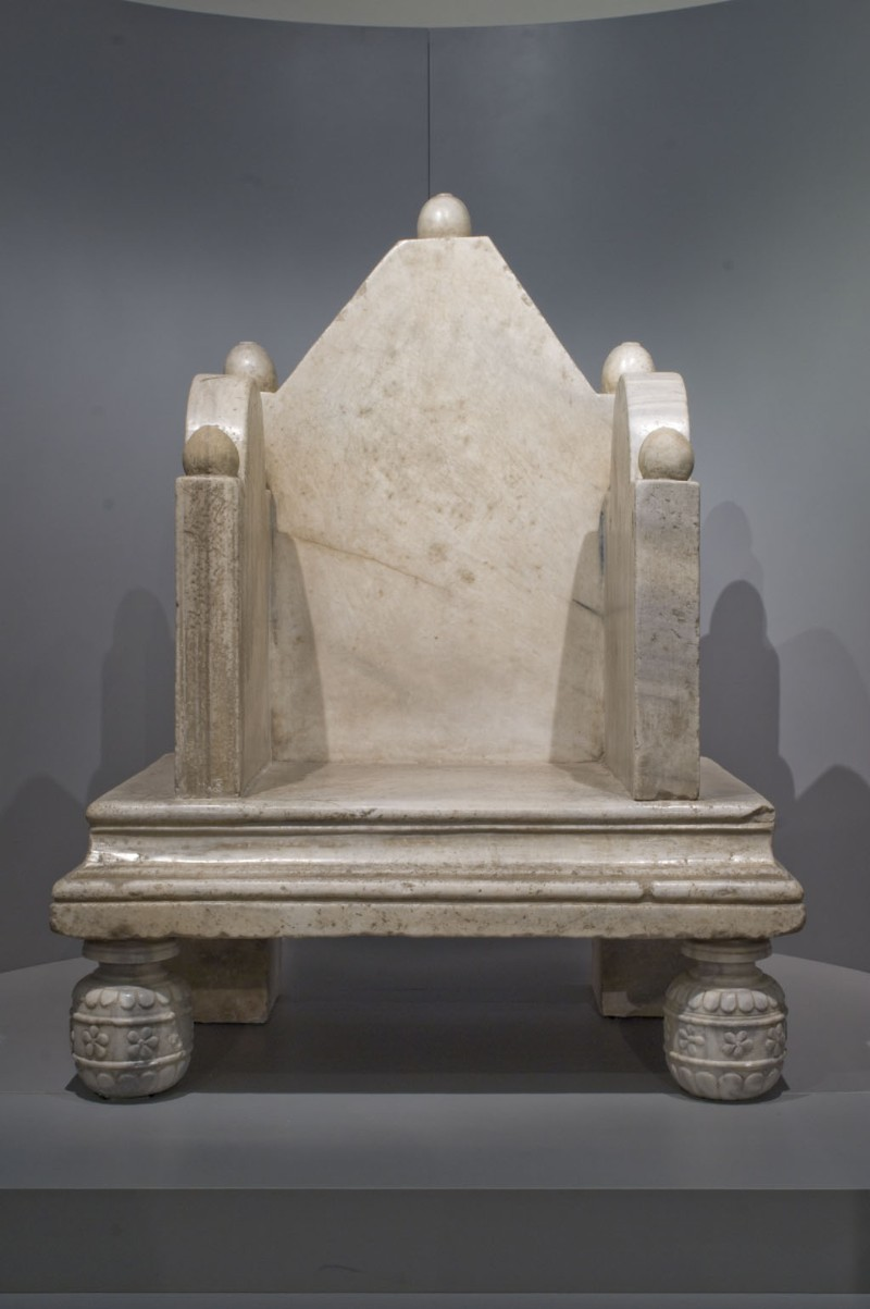Ambito longobardo sec. IX-X, Cattedra patriarcale