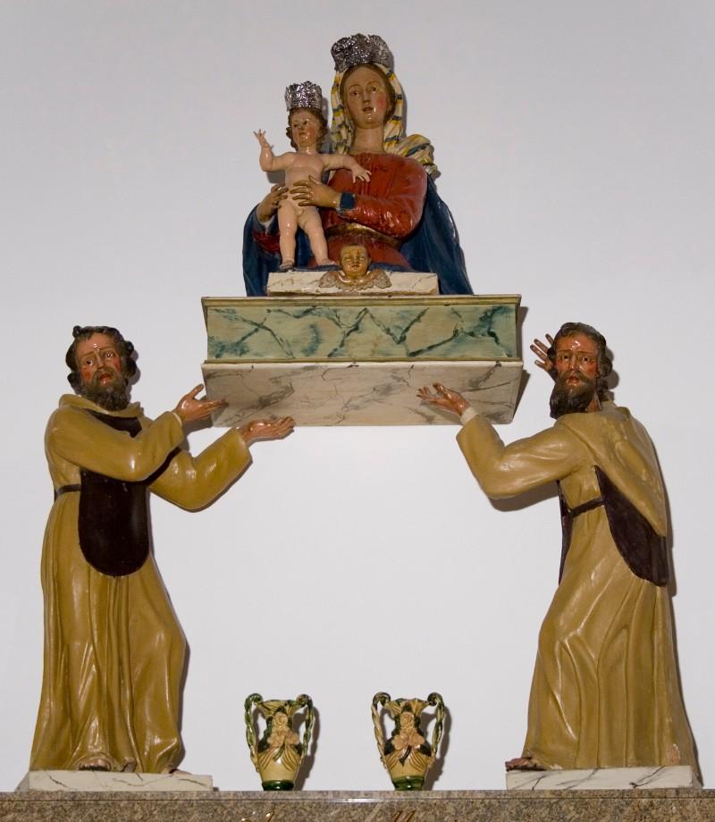 Ambito napoletano (1750-60), Gruppo scultoreo della Madonna dell'Itria
