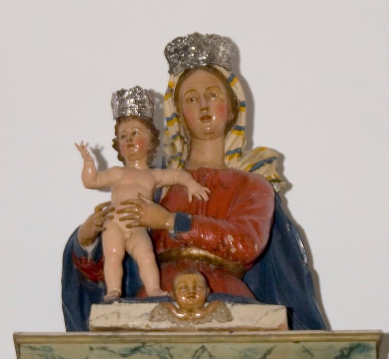 Ambito napoletano (1750-60), Madonna dell'Itria con Gesù Bambino