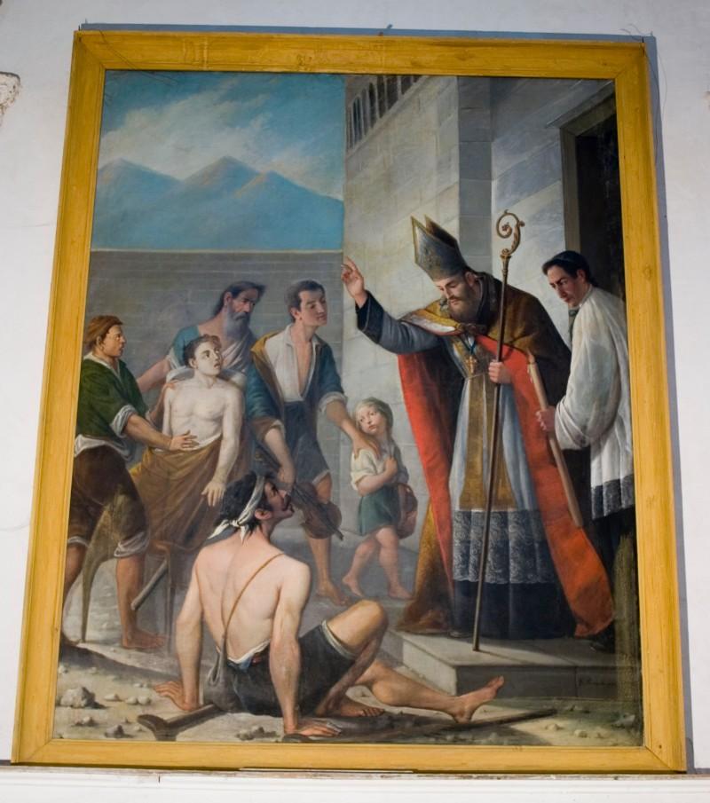 Accardi R. (1883), San Mauro guarisce gli storpi