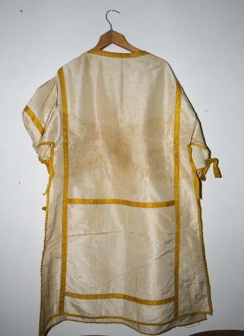 Manifattura napoletana sec. XVIII, Dalmatica bianca
