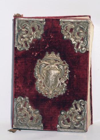 Argentiere napoletano sec. XVIII, Coperta di lezionario