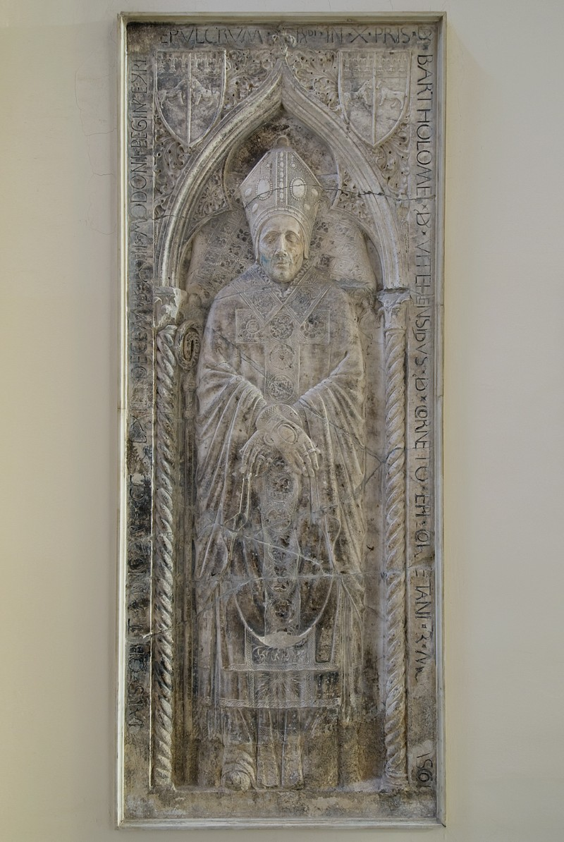 Bott. laziale (1463), Lastra tombale di Bartolomeo Vitelleschi