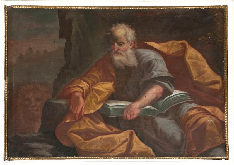 Ambito fiemmese prima metà sec. XVIII, S. Marco Evangelista