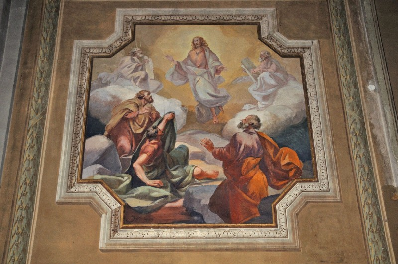Albertella A. (1935), Dipinto murale con la Resurrezione di Cristo