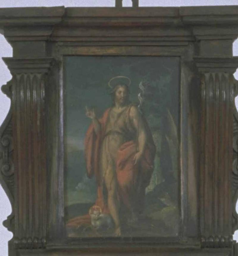 Agresti L. sec. XVI, Dipinto San Giovanni Battista