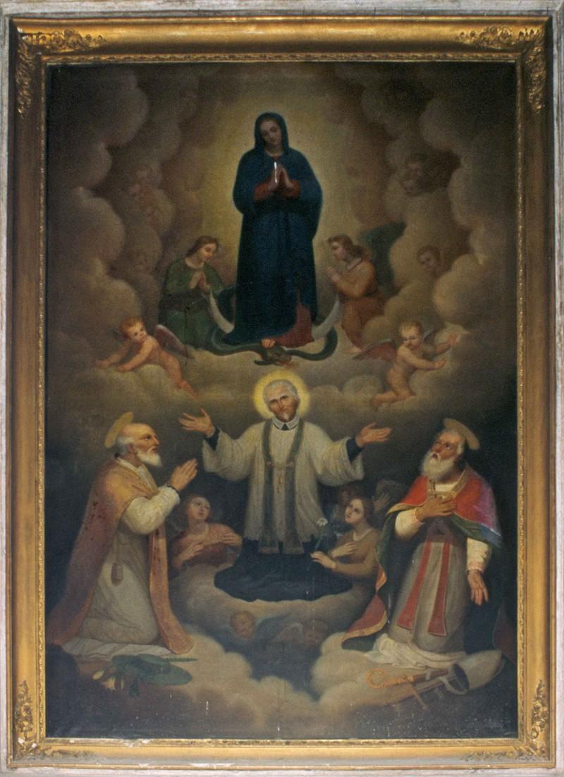 Scuola piemontese sec. XIX, San Luigi Grignon de Montfort