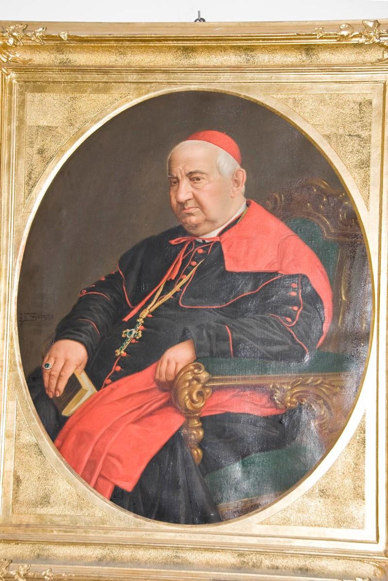 Ambito veneto sec. XIX, Ritratto patriarca Giuseppe cardinal Trevisanato
