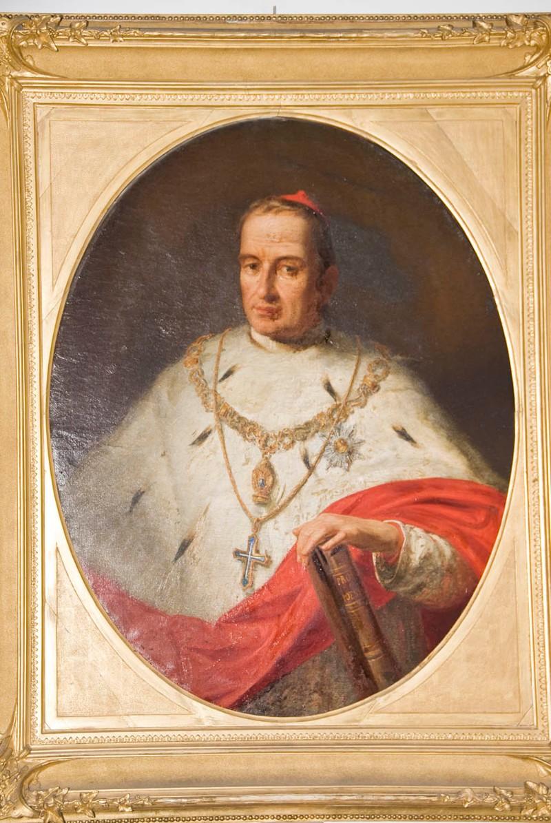 Ambito veneto sec. XIX, Ritratto patriarca Jacopo Monico