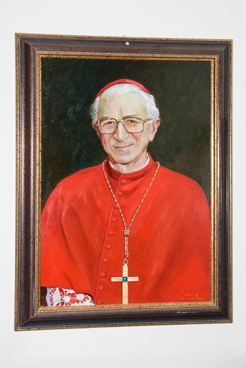 Perolini L. sec. XX, Ritratto patriarca Marco cardinale C'è