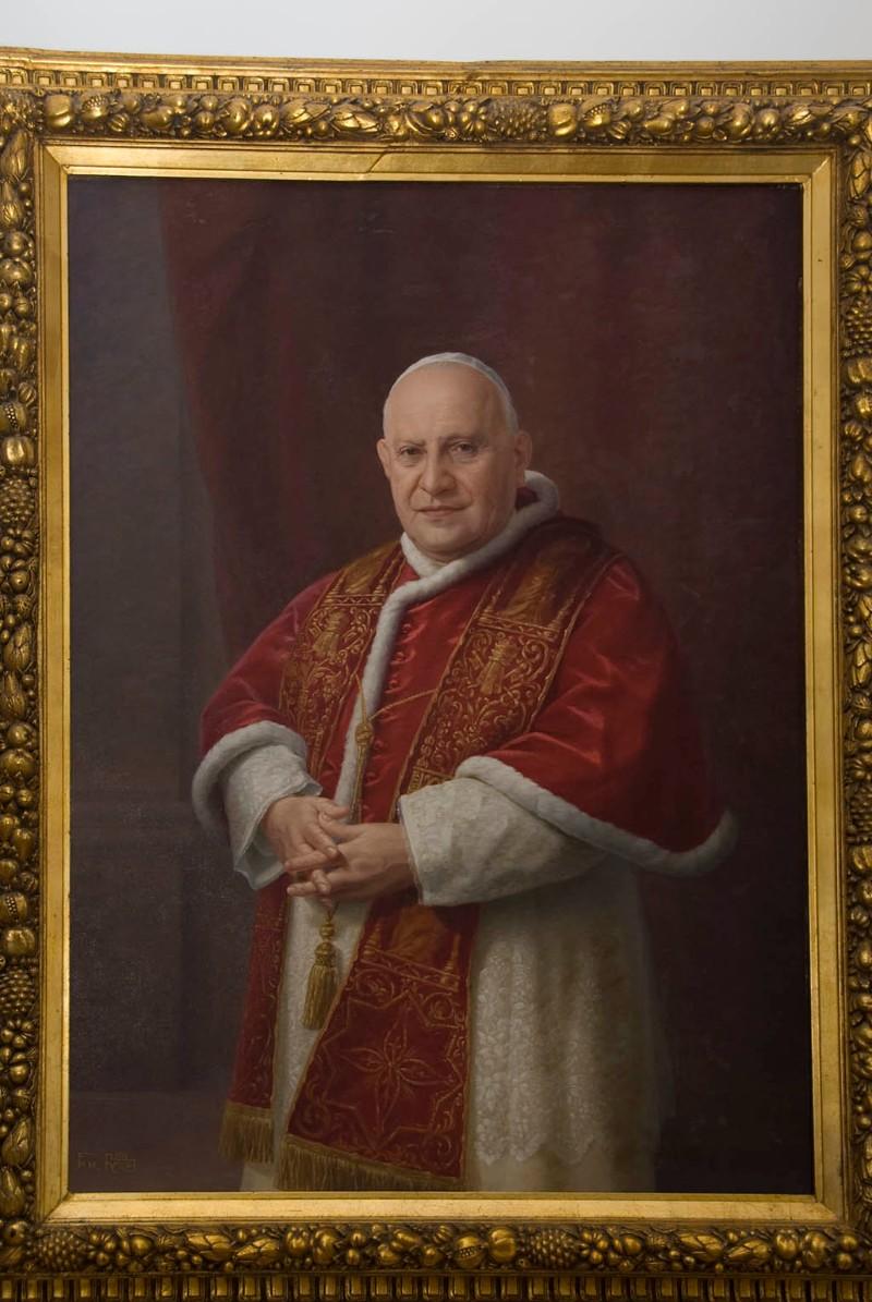 Ambito romano (1959), Ritratto di papa Giovanni XXIII