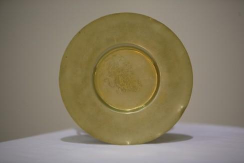 Bott. dell'Italia meridionale seconda metà sec. XX, Patena in rame dorato