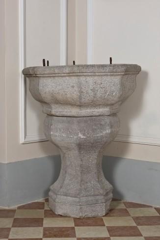 Bott. lucana (1750), Fonte battesimale