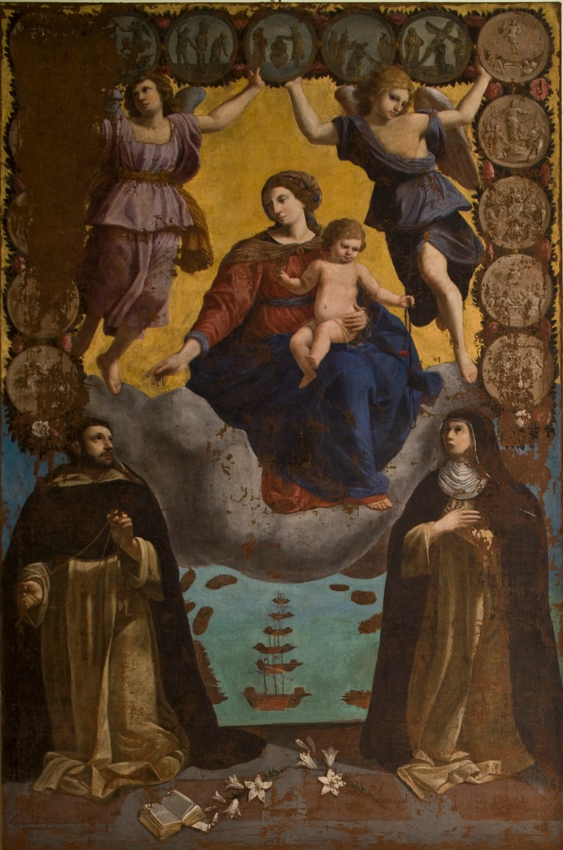 Calisti C. (1648), Madonna del rosario