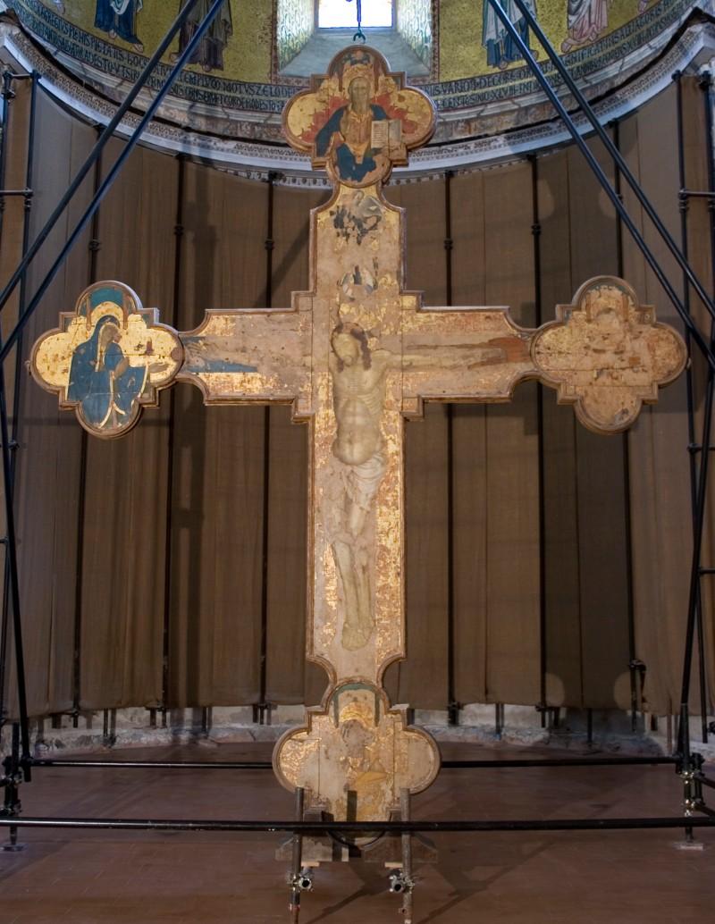 Ambito italiano sec. XV, Croce trionfale