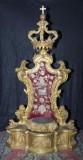 Ambito siciliano sec. XVIII, Tronetto per l'esposizione delle sante spine