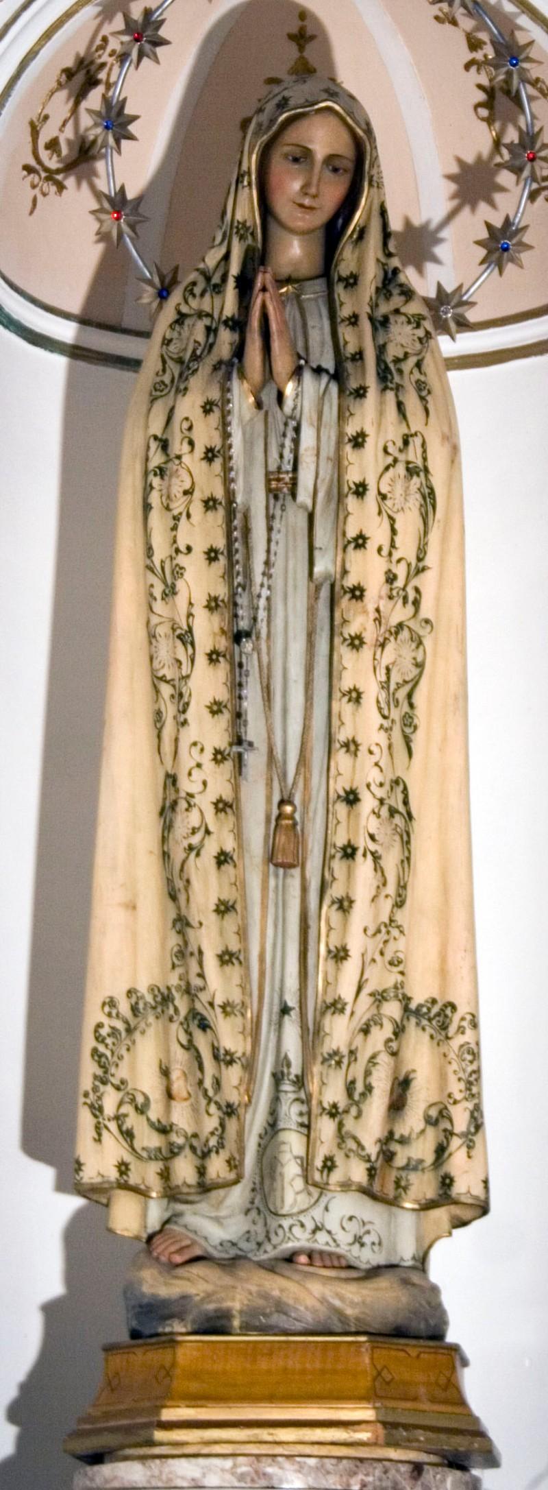 Ambito italiano sec. XX, Madonna di Fatima