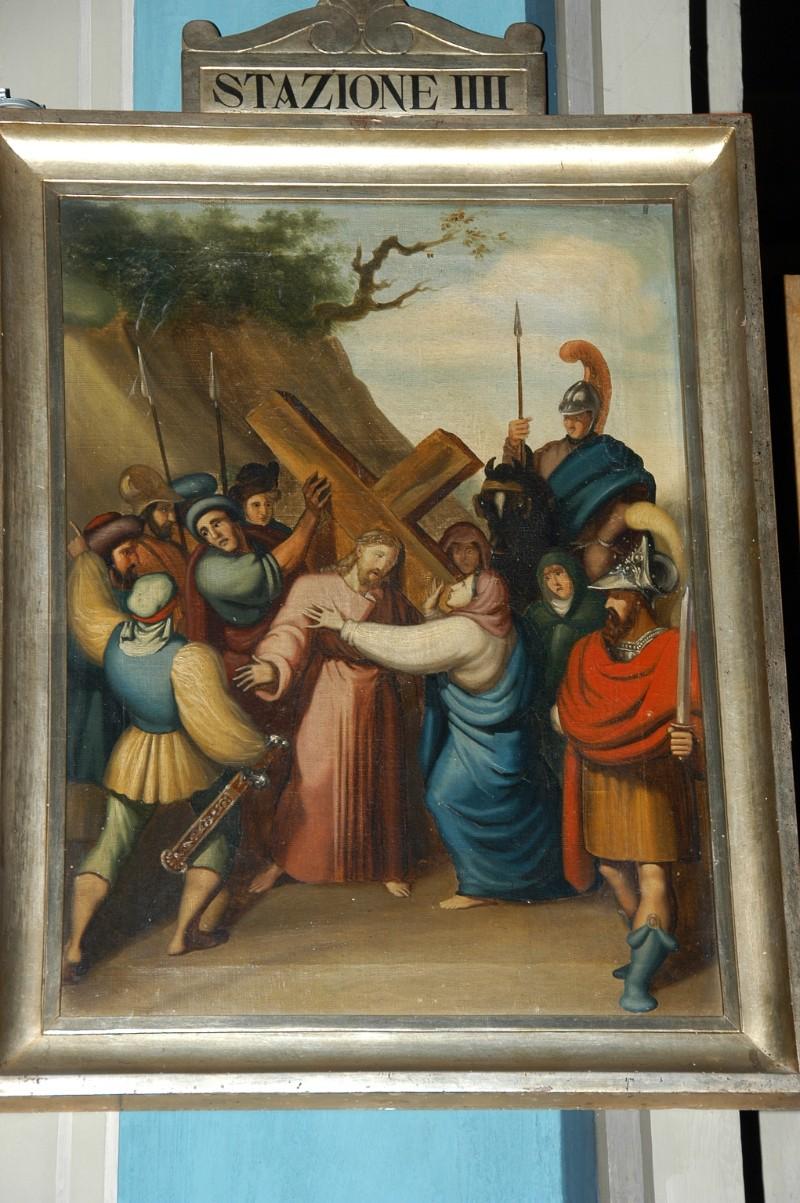 Achille L. metà sec. XIX, Gesù Cristo incontra la Madonna e le pie donne