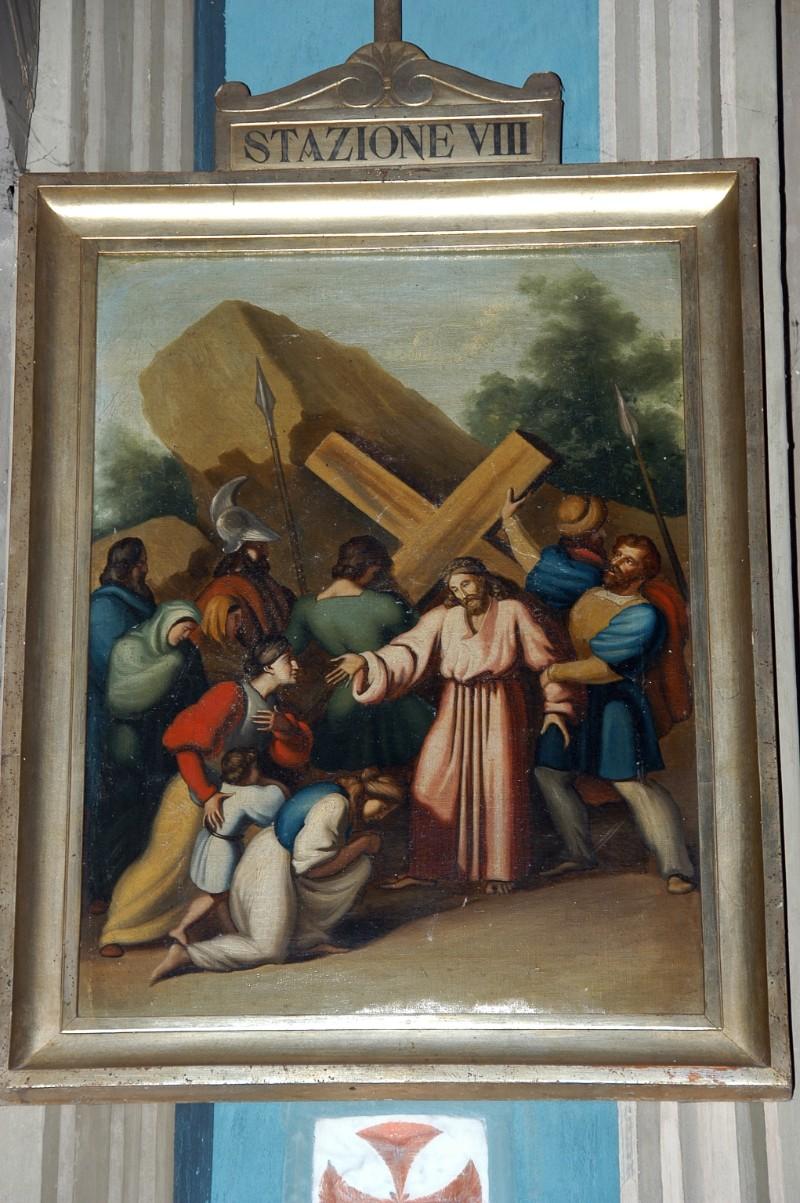 Achille L. metà sec. XIX, Gesù Cristo consola le donne di Gerusalemme