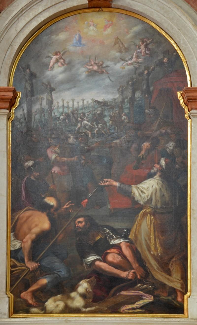 Barca G. B. (1636 circa), Martirio di S. Paolo Miki e compagni