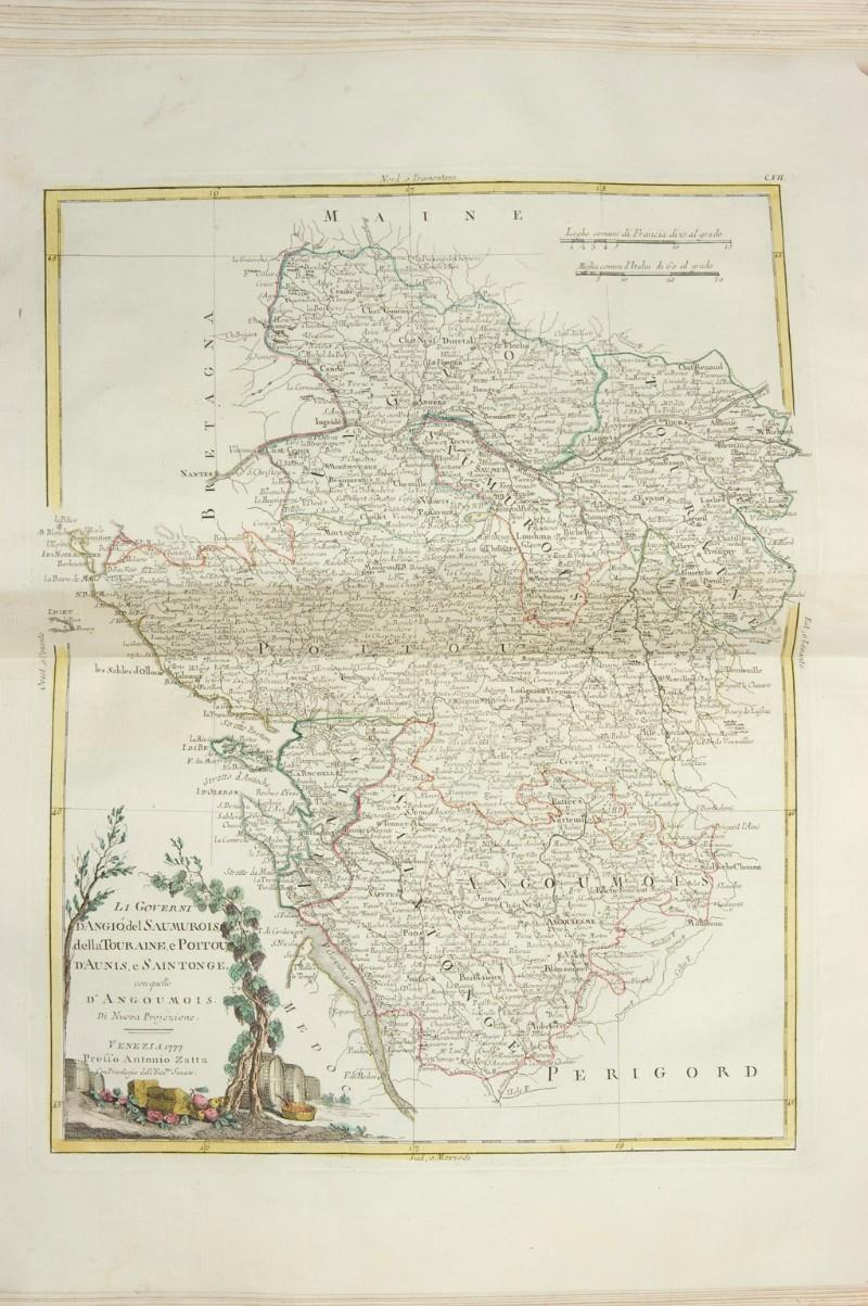 Beweb Kunstwerk Zuliani G 1777 Carta Geografica Della