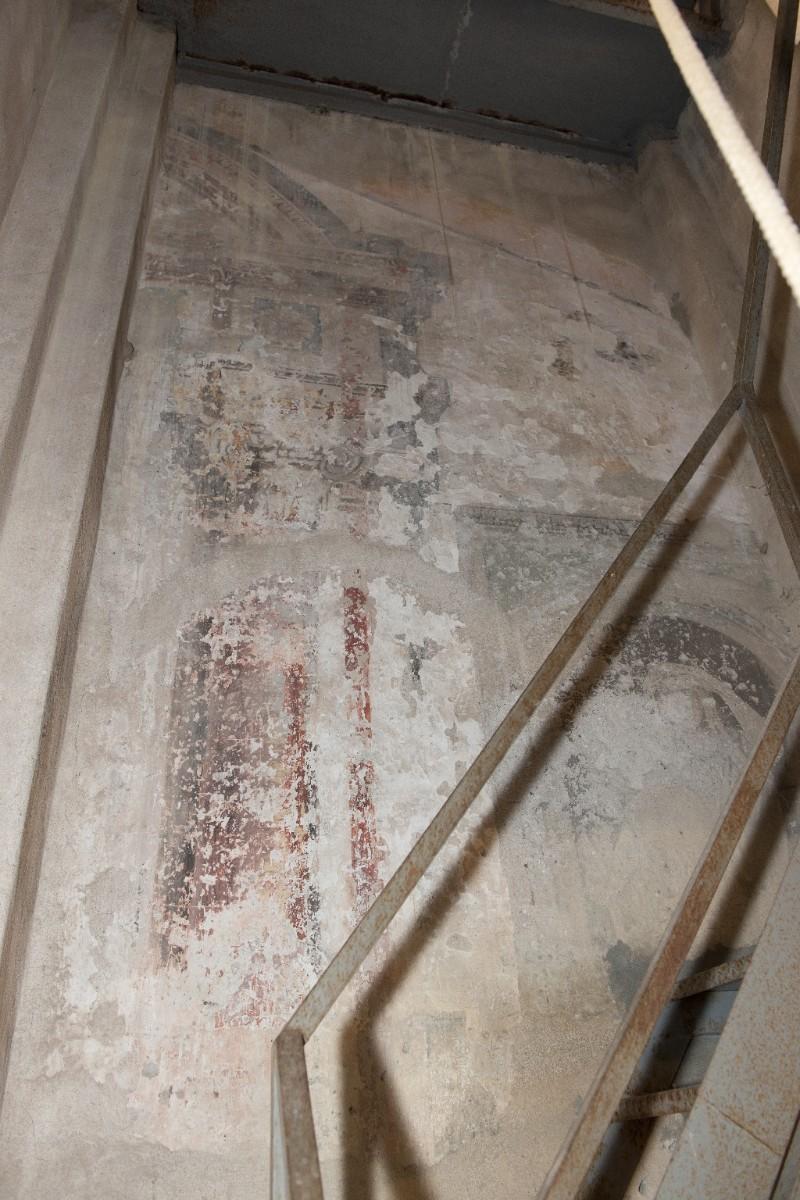 Ambito toscano sec. XV, Affresco della Tribuna di Santa Maria di Pappiana