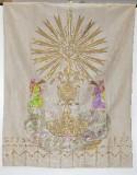 Manifattura dell'Italia meridionale (1882), Gonfalone bianco con angeli