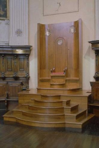 La nuova cattedra vescovile del 1997