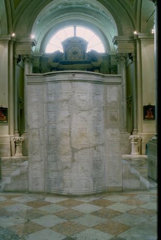 L'ambone del Vescovo Agnello, VI sec.