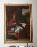 Ambito laziale sec. XVIII, Dipinto del Cardinale Galeazzo Marescotti