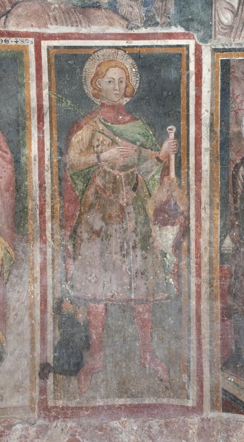 Ambito laziale sec. XIII, Dipinto murale di San Primitivo