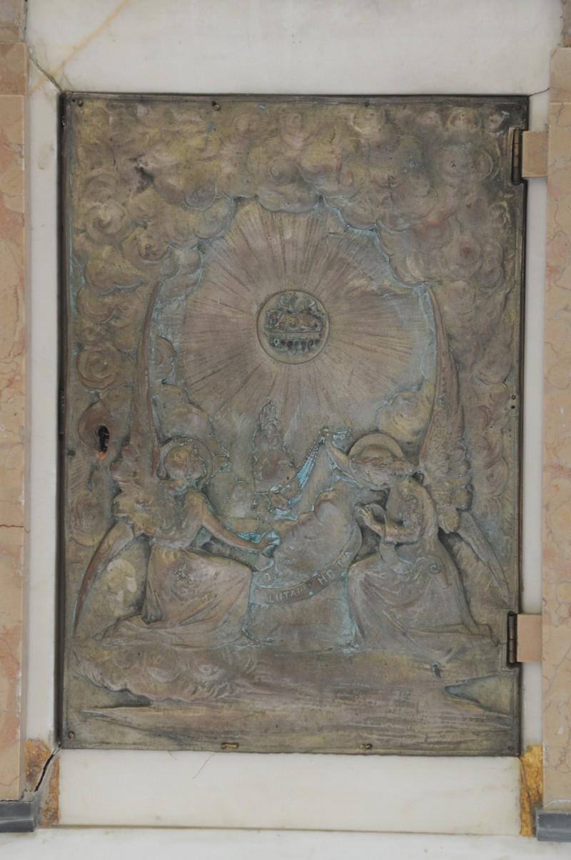 Ambito Italia sett. sec. XX, Angeli adoranti l'Eucaristia