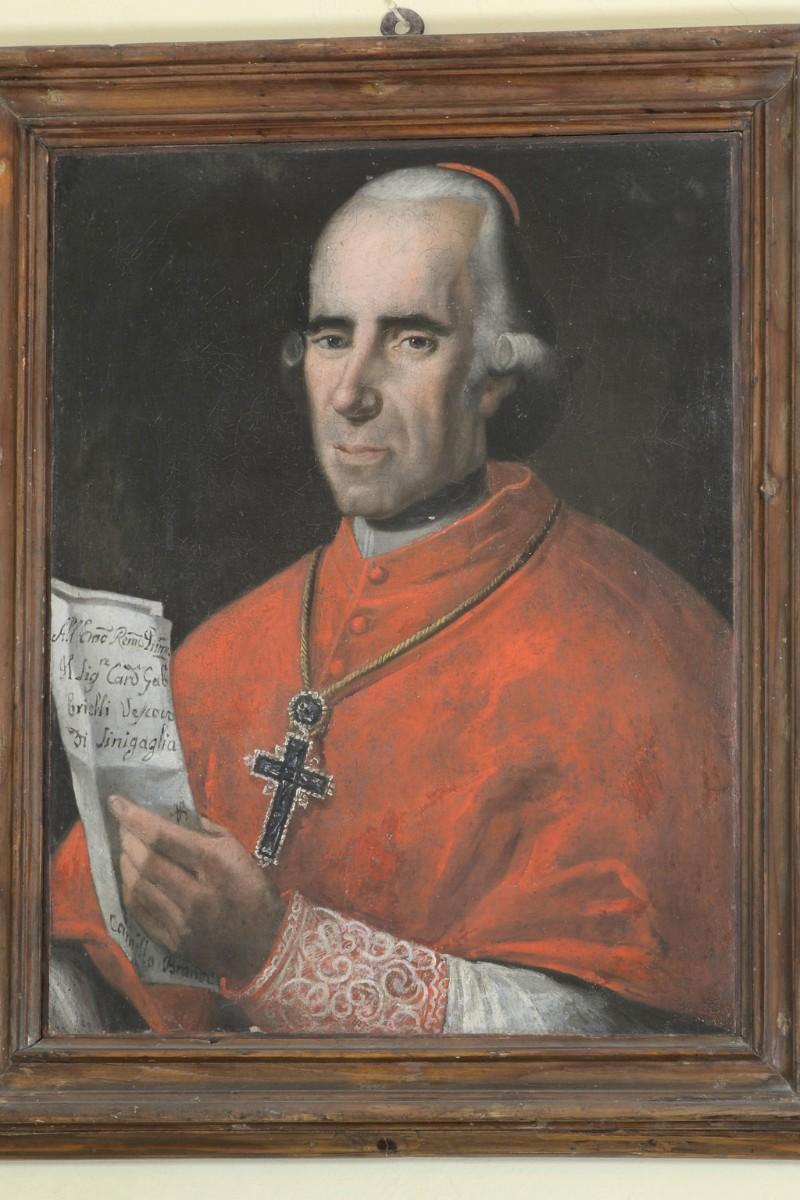 Ambito marchigiano sec. XIX, Cardinale Giulio Gabrielli vescovo di Senigallia