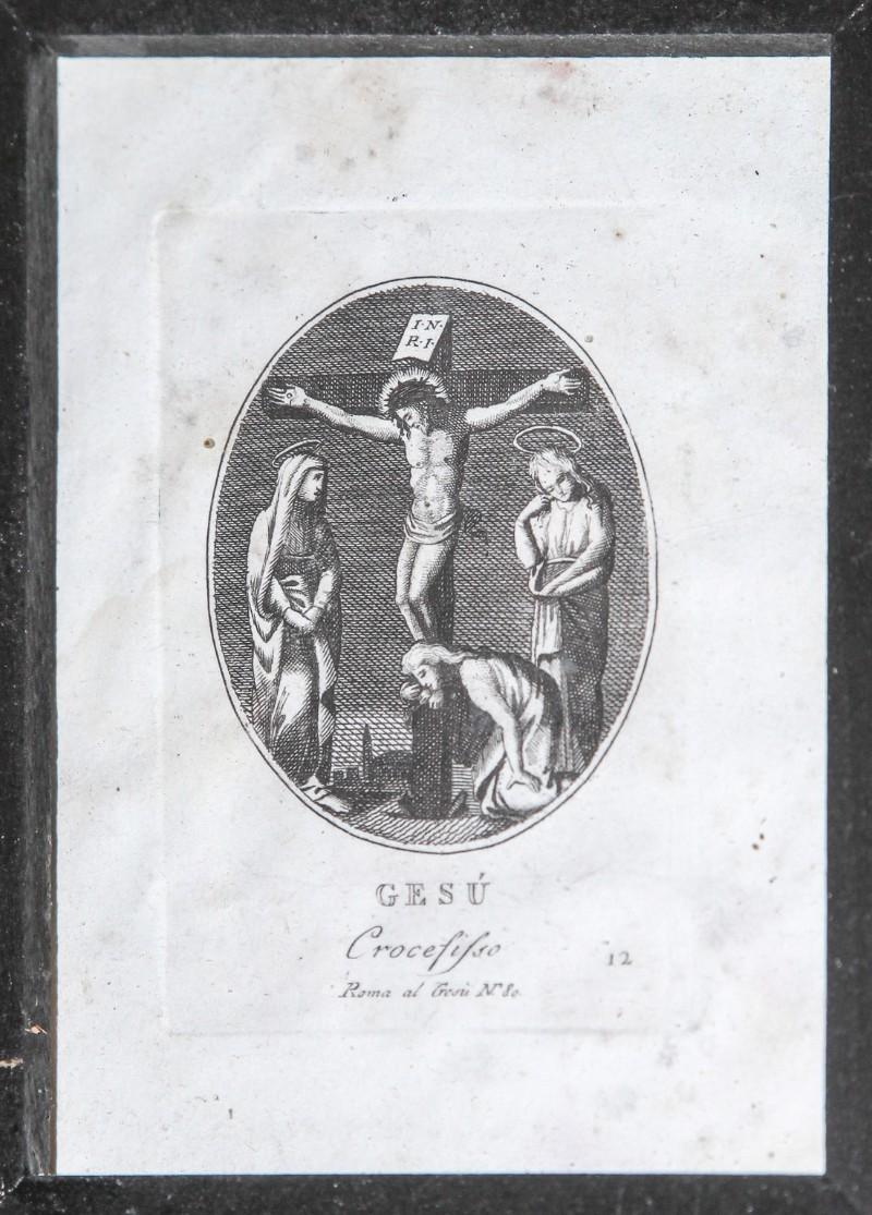 Agricola Luigi - Rados Luigi sec. XIX, Gesù Cristo morto in croce