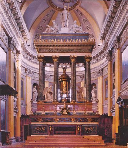 L'altare maggiore di A. Antonelli