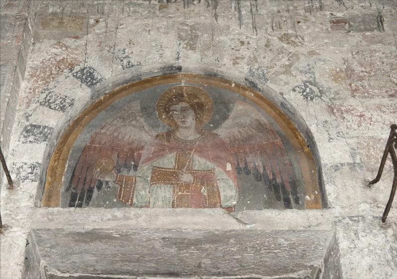 Ambito pisano sec. XIII, Dipinto murale di San Michele arcangelo